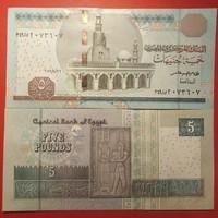 Egyiptom 5 pounds 2016 UNC
