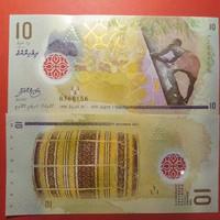 Maldív-szigetek 10 rufiyaa 2015 UNC polimer