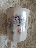 Virágos teás csésze