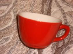 Piros Csodás gránit kávés csésze