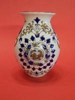 Perzsa mintás Zsolnay váza