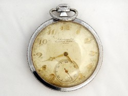 Cortébert Chronometre Zsebóra Svájc Sorszámozott