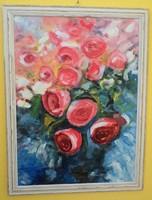 Rózsák - Igéző pink rózsabokor