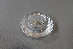 Üveg gyertyatartó