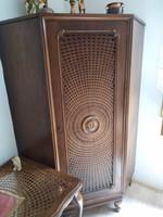 Ratán sarok ruhás szekrény