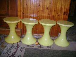 Retro pille szék - öt darab