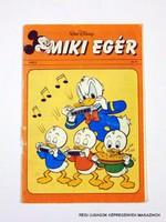 1988 október  /  MIKI EGÉR  /  SZÜLETÉSNAPRA! RETRO, RÉGI EREDETI KÉPREGÉNY Szs.:  10653
