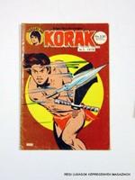 1978 ?  /  KORAK  /  Külföldi KÉPREGÉNY RITKASÁG! Szs.:  10671