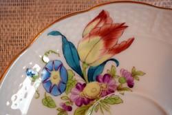 1 db. Herendi porcelán, tulipános teás csésze, hozzá tartozó  csésze aljjal.