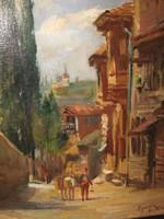 KÉP 1911-ből EGERVÁRY POTEMKIN ÁGOST / 1858-1930/ : KONSTANTINÁPOLY