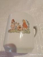 Antik gyerek csésze