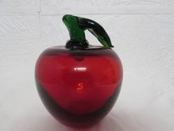 Rubin szinű uveg alma