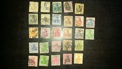 Régi német bélyegek: Deutsches Reich