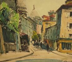 Charles Feola (1917-1994) : Mountmartre