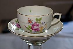 Antik  Herendi porcelán, 2db. csésze + 2 db. csészealj