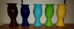 Kispest, Gránit gyár, vázák plasztikus díszekkel, art deco