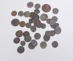 40 darab antik római érme