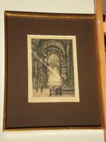 Gy. Sándor József (1877–1936) : Szerviták temploma