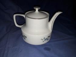 Hollóházi porcelán teás kanna