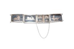 Nielós ezüst karkötő