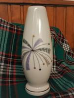Aquincum porcelán váza, hibátlan, 16 cm