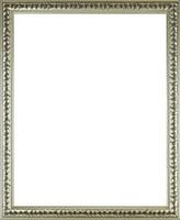 0W822 Ezüstözött historizáló képkeret 40 x 50 cm