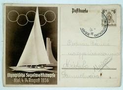1936-os olimpiai képeslap