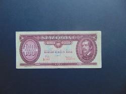 100 forint 1957 B 289 Ritka évszám !