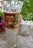 Álomszép kristály váza