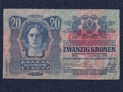 Osztrák-magyar 20 korona 1913/id 8263/