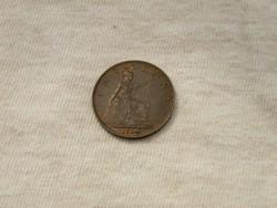 KK355 1934 farthing V. György király Anglia