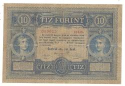 10 forint / gulden 1880 1.