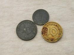 KK368 Németország birodalmi érmék horogkeresztes