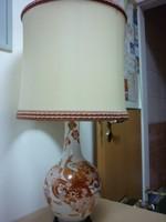 Kutani Japán asztali lámpa
