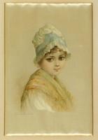 Nyugat-európai festő XIX. sz. : Kislány