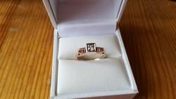 Régi arany gyűrű 14 k