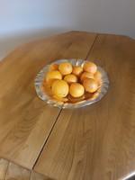 Hatalmas Olasz ezust gyümölcstál 700 gr