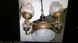 Antik bronz 5 ágú empire csillár