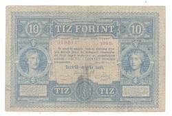 10 forint / gulden 1880 2.