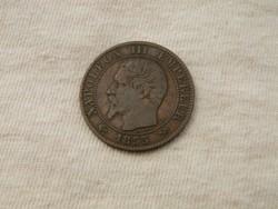 KK364 1855 Franciaország III. Napóleon 50 centimes