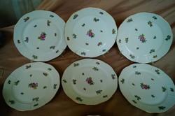 Herendi eton mintás 6 db lapos tányér