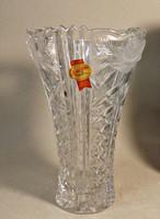 Anna Hütte kristály váz, 20 cm