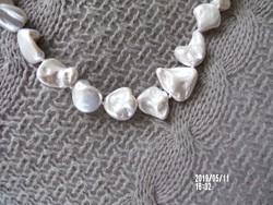 Rendkívül különleges tenyésztett gyöngy nyaklánc
