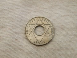 KK374 1939 Angol Nyugat Afrika 1/10 penny UNC