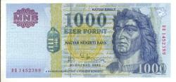 "1000 forint 2002 ""DB"" 2."