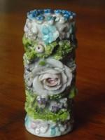Porcelán mini váza