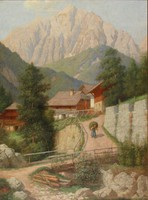 Wettach jelzéssel : Az Alpokban