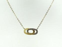 Arany nyaklánc (Kecs-Au80740)