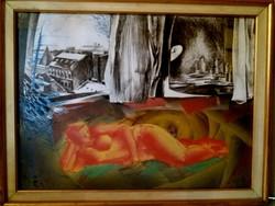 Topor András (1944-1997) - Ablakok meséi