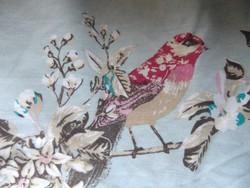 VÉGKIÁRUSÍTÁS !!! Csodaszép nagyméretű madaras paplanhuzat